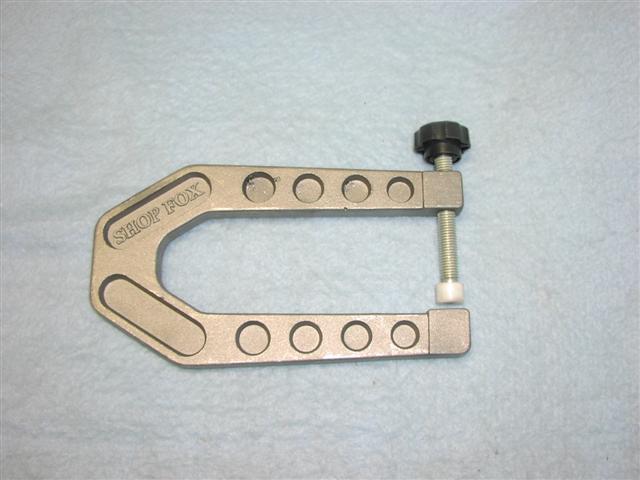 throat c-clamp deep Aluminum